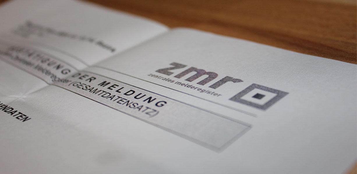 Meldezettel - Registration