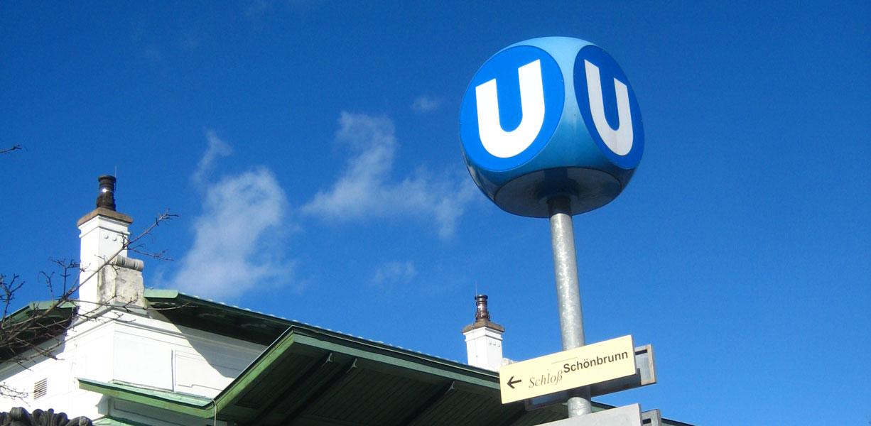 vienna subway sign