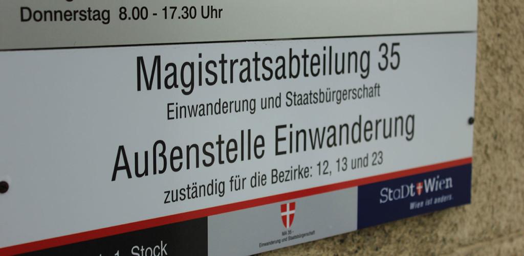 Immigration Austria MA35