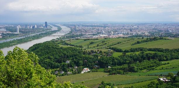 View over Vienna - Leopoldsberg